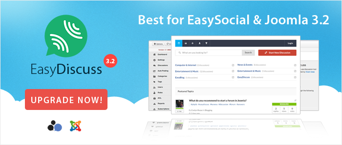 EasyDiscuss 3.2 Release